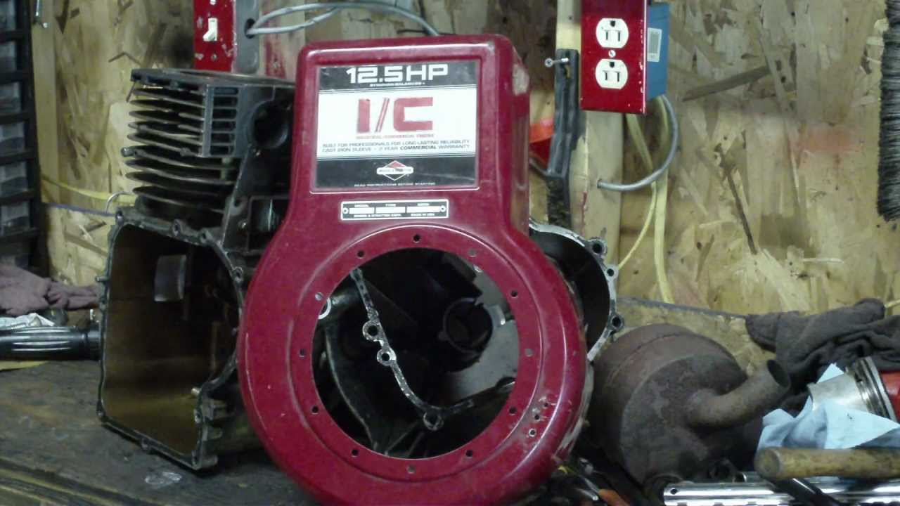 Teardown and Inspection of Briggs and Stratton 125 HP IC