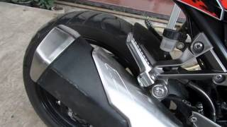 Bobok knalpot/exhaust Z250/ninja fi