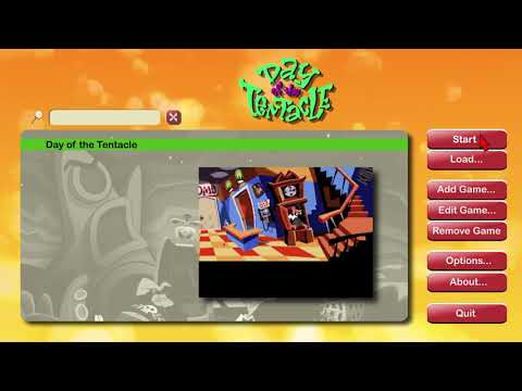 Day Of The Tentacle (ScummVM Unified)
