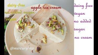 Sugar-Free Dairy-Free Vegan Apple Kulfi: Naturally Sweetened
