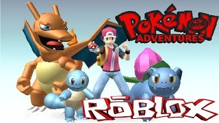 ROBLOX POKEMON ADVENTURE | Grass Gym | New attacks and reaping