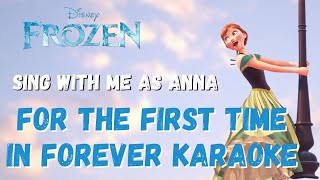 For The First Time in Forever (Elsa Only) Karaoke