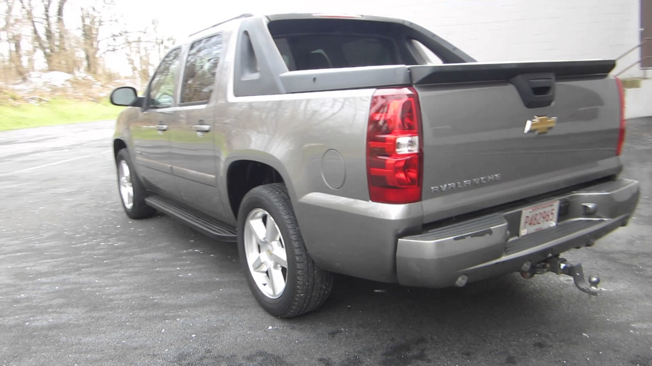 rare 2007 chevy avalanche ltz k1500 4x4 sold youtube. Black Bedroom Furniture Sets. Home Design Ideas