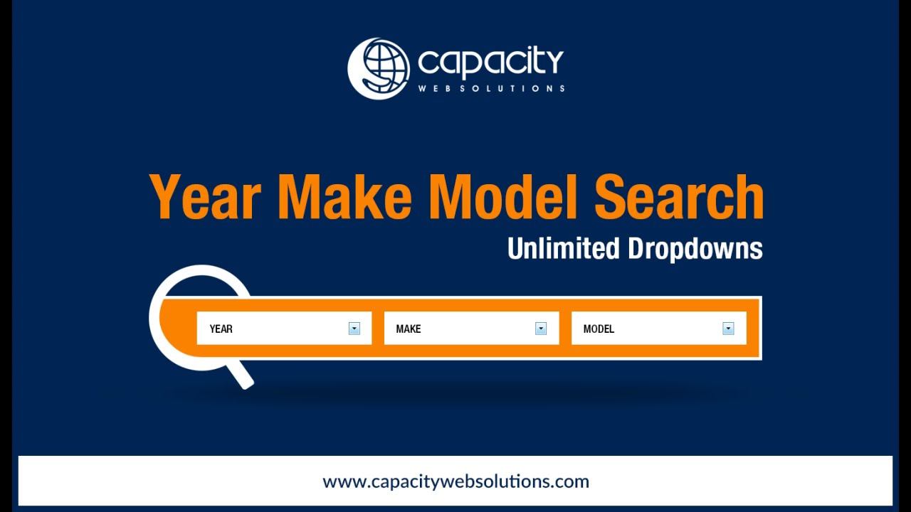 Bigcommerce Year Make Model Search ( Unlimited Dropdowns ) - YouTube