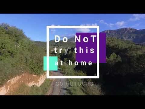 Best drone flight over Catalan mountains