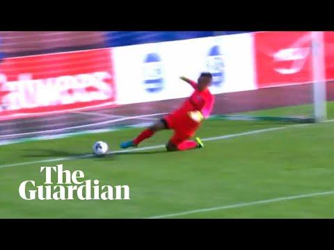 Estonian side score own goal 14 seconds into match