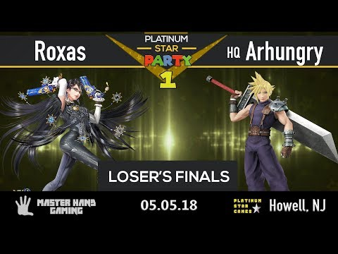 Platinum Star Party 1 - Roxas (Bayo) vs HQ Arhungry (Cloud) - Loser's Finals