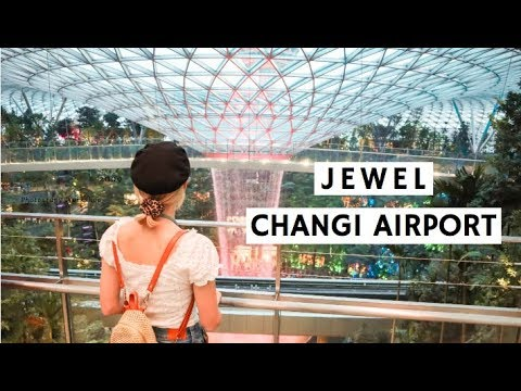 JEWEL AT CHANGI AIRPORT | FIRST PREVIEW!