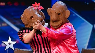 Unforgettable Audition: Tom & Noelle create a clay comedy MASTERPIECE! | Britain's Got Talent