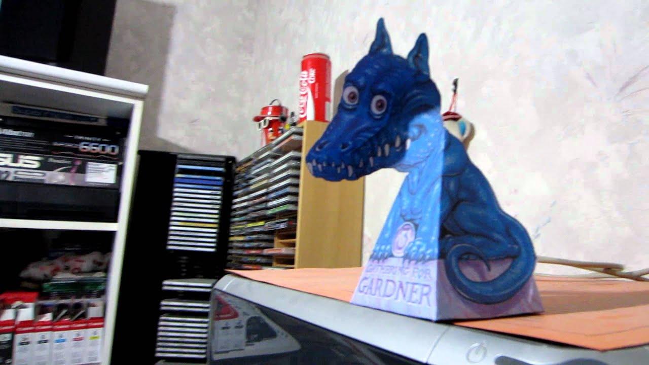 Gathering For Gardner 3 Blue Paper Dragon Youtube
