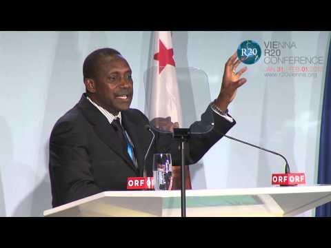 Keynote Speech Kandeh Yumkella, Vienna R20 Conference 2013