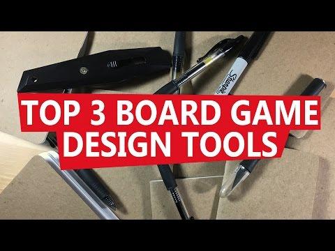Top 3 Board Game Design Tools - Board Game Design Time