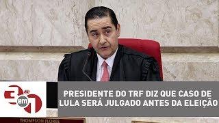 A defesa do ex-presidente Lula afirmou que espera obter a inocência...