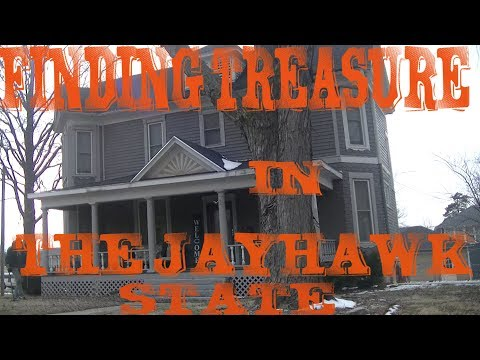 TREASURE HUNTING THE JAYHAWK STATE FINDING TREASURE