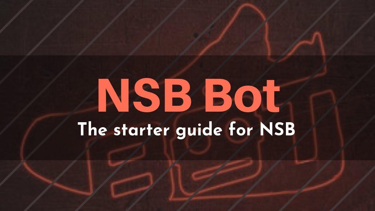 Starter guide for NikeShoeBot!