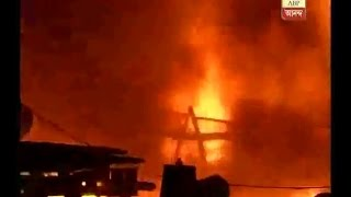 fire at a factory at Belure, howrah