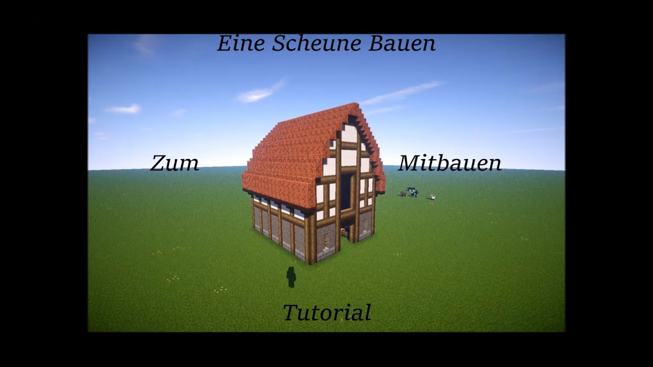 minecraft scheune bauen tutorial youtube. Black Bedroom Furniture Sets. Home Design Ideas
