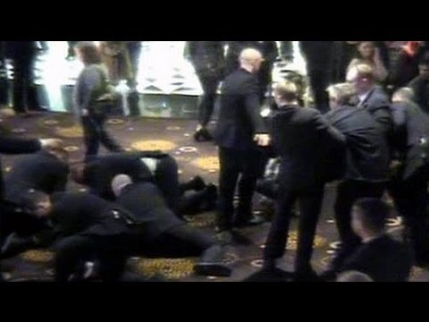 Bouncers Assault Patrons | Shocking Casino Fight CCTV