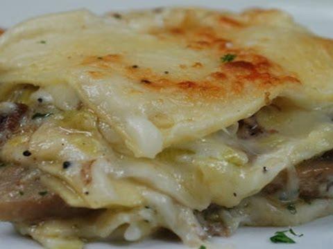 lasagna bianca con besciamella, ricetta tradizionale - Come Cucinare Le Lasagne