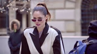 Coco Rocha and more arriving at the Longchamp Fashion Show in New York City