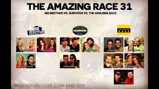 The Amazing Race 31 - Cast Assessment