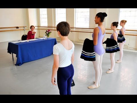 Royal Academy of Dance exams experience