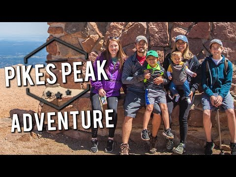 Pikes Peak - Colorado Springs - 4K Travel Vlog