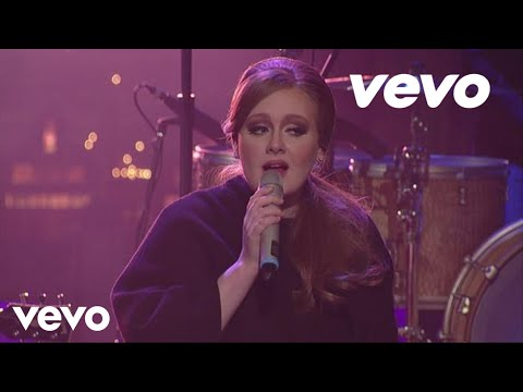 Adele  Make You Feel My Love  on Letterman