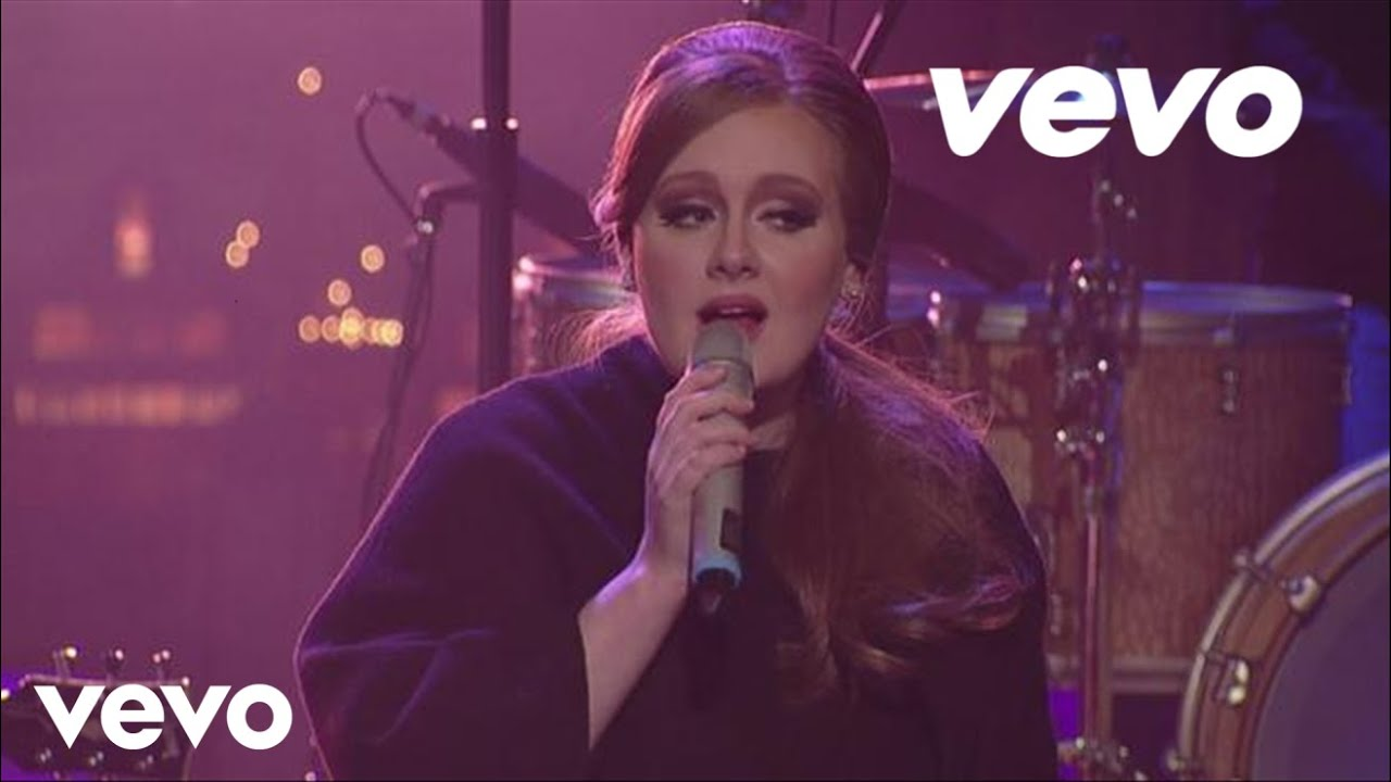 Adele - Make You Feel My Love (Live on Letterman)