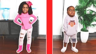 WE DIVIDED OUR HOUSE! - Shiloh and Shasha - Onyx Kids Shiloh and Sh...