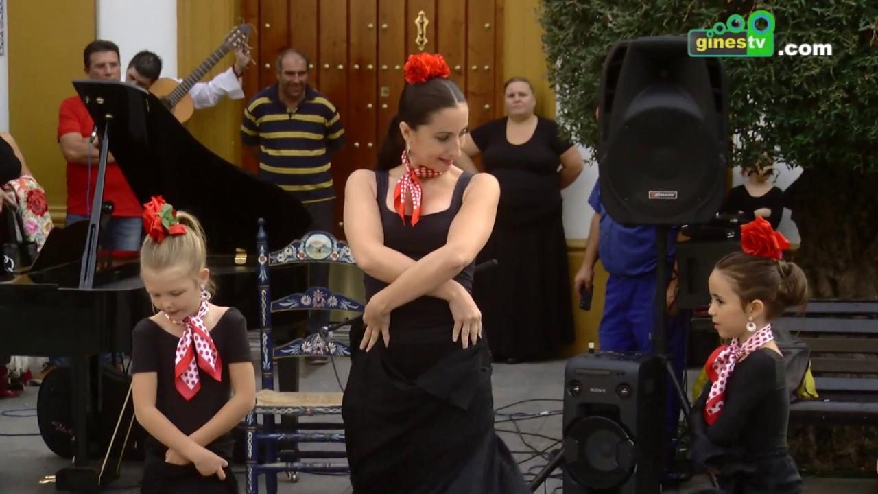 El XVII Festival Flamenco de Gines toma la calle con una exhibición de la Escuela de Música y Danza