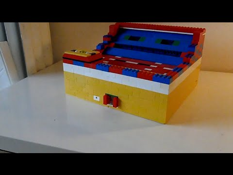 how to make a ball machine with lego