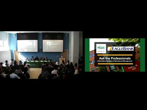 Ask the Professionals: Information Systems and Operations Management | George Mason University