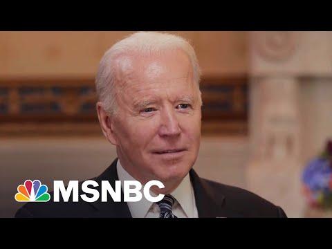 Biden Says Vaccination Still Number One Priority In Next 100 Days