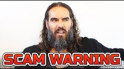 RUSSELL BRAND SCAM | BITCOIN BILLIONAIRE WARNING!!!
