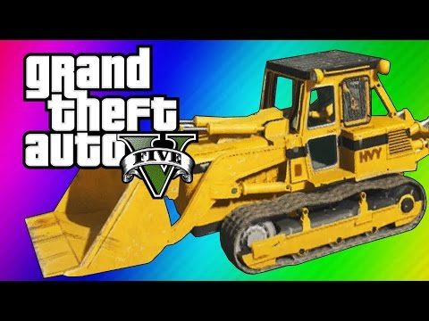 Thumbnail: GTA 5 Online: 2 Fun Jobs! - Pool Divers & Vehicle Bouncy Castle! (GTA 5 Funny Moments)