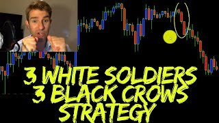 Forex Swing Trading Strategy: 3 White Soldiers 3 Black Crows Strategy 💂💂💂