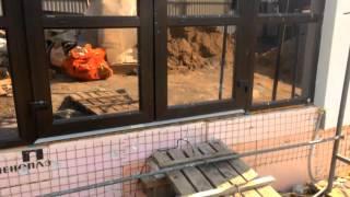 115-31 - Покраска фасада по системе Церезит(Поэтапный видеоотчет хода строительства объекта №115. Проект