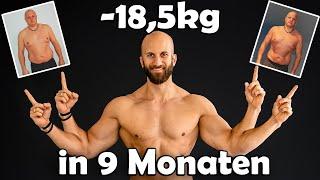 Er hat -18kg in 9 Monaten abgenommen!