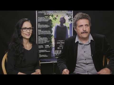 Aquarius - Interview Sonia Braga & Diretor Kleber Mendonça Filho