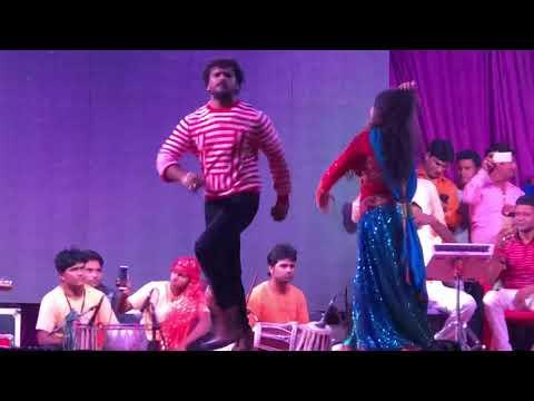 Khesarilal & Amrapali Dubey Live Performance FULL HD. Abhi Baccha Ba