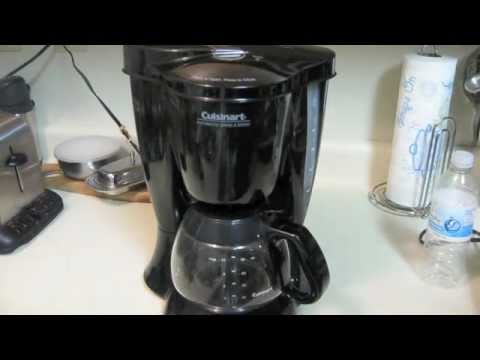 Cuisinart Grind and Brew DGB300 Demo YouTube