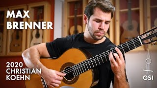 "Francisco Tárrega's ""Estudio Brillante de Alard"" performed by Max Brenner on a 2020 Christian Koehn"