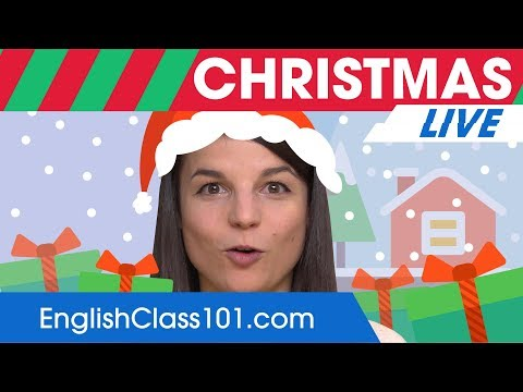 Must-Know Christmas Words and Phrases - Learn English Vocabulary 🔴