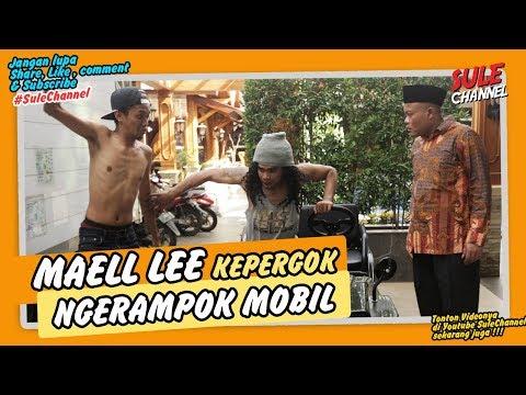 Maell Lee Kepergok Maling Mobil dirumah Sule