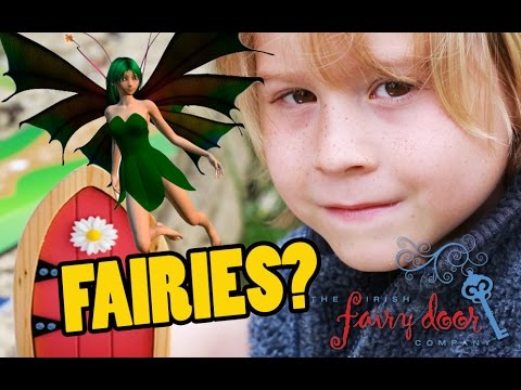 PROOF Fairies EXIST?! How to use Irish Fairy Door to invite a Fairy into your Home | Beau's Toy Farm