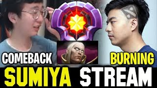 Even BURNING is commending SUMIYA Invoker | Sumiya Stream Moment #612
