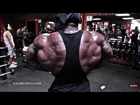 Kali muscle chest workout w 200lb dumbbell press doovi