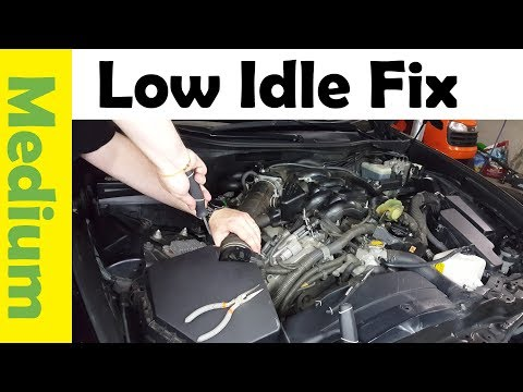 How-to Fix Low Idle on Your Car (Clean Electronic Throttle Body) Check Engine VSC
