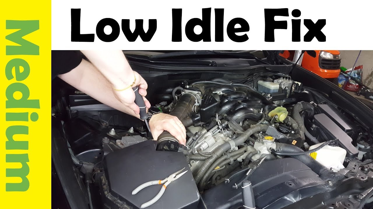 How To Fix Low Idle On Your Car Clean Electronic Throttle Body